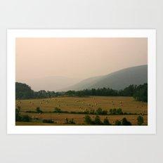 West Virginia Farmer Art Print