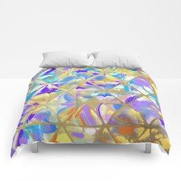 Swirled Tile Work Comforters