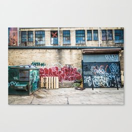 Around Back Canvas Print