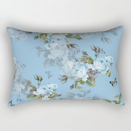 Vintage Garden Rectangular Pillow