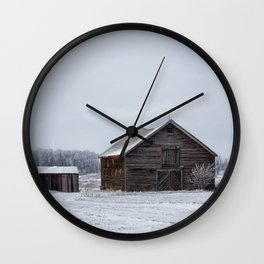 Still Standing Wall Clock