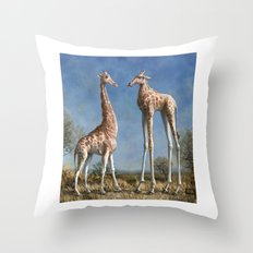 Emmm...Welcome to the herd... Throw Pillow