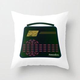 Floating Radio Throw Pillow