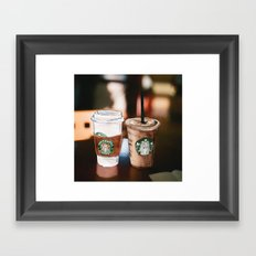 Starbucks Coffee  Framed Art Print