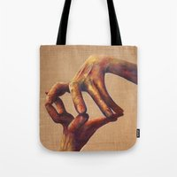 architecture Tote Bags featuring Architecture by Peter Dannenbaum