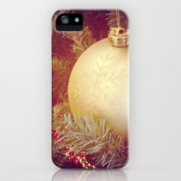 Golden Orb iPhone Case