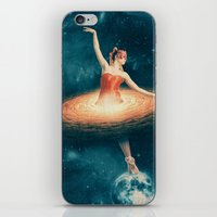 nan lawson iPhone & iPod Skins featuring Prima Ballerina Assoluta by Paula Belle Flores