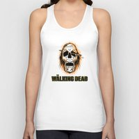 the walking dead Tank Tops featuring Walking Dead by ezmaya