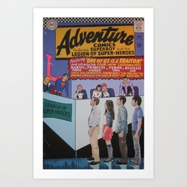 Adventure Comics 346 Art Print