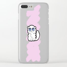 House Cat no 4 - cartoon Clear iPhone Case