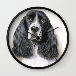 The Springer Spaniel Wall Clock