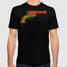 I shot the sheriff LARGE Mens Fitted Tee Black