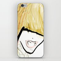 girl power iPhone & iPod Skins featuring Girl Power by Juan I. Scocozza