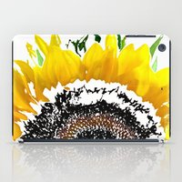 sunflower iPad Cases featuring Sunflower by Regan's World