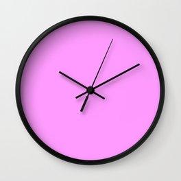 power Pink ! Wall Clock