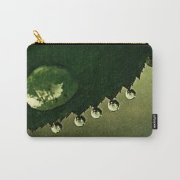 Leaf Drops Carry-All Pouch