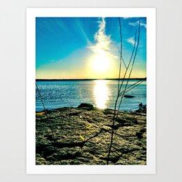 The Smoking Sun  Art Print