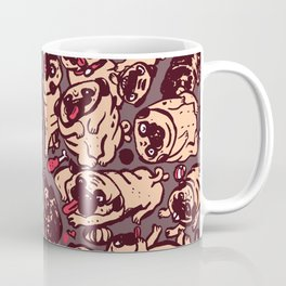 Pugs meeting Coffee Mug
