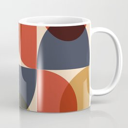 Mid Century pattern design 6 Coffee Mug