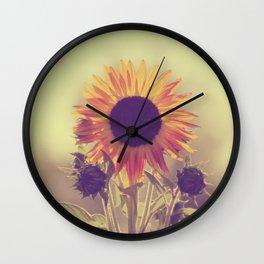 Sunflower 01 Wall Clock