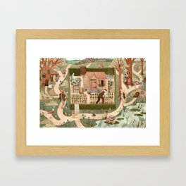 Beatrix's Friends Framed Art Print