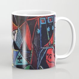 A roughly vectorised and reworked Picasso Coffee Mug