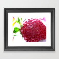 Just Ripe Framed Art Print
