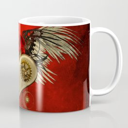 Wonderful steampunk heart with wings Coffee Mug