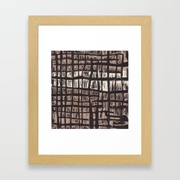 aerial I Framed Art Print