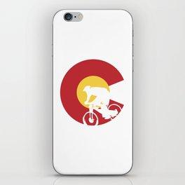 Mountain Bike Colorado iPhone Skin
