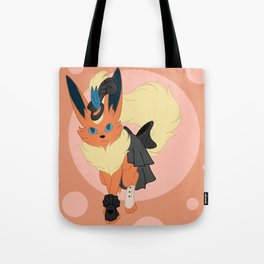 Fire Steampunk Fox Tote Bag