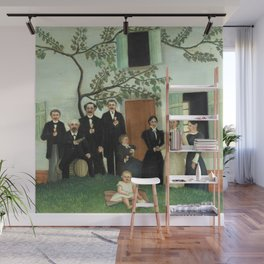 "Henri Rousseau ""The Family (La Famille)"" Wall Mural"