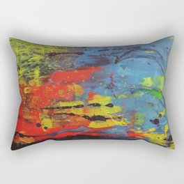 The beautiful and great surge - la belle et grande envolée Rectangular Pillow