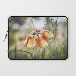 An umbrella flower Laptop Sleeve