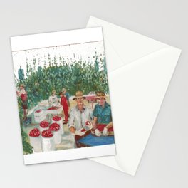 Tomato Growers,Australia             by Kay Lipton Stationery Cards