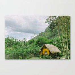 THAILAND BUNGALOW Canvas Print