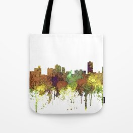 Knoxville Tennessee Skyline - Safari Buff Tote Bag