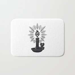 All Seeing Candle Light Bath Mat