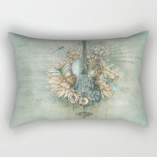 Analog Sound Rectangular Pillow