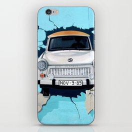 Taxi Breaking The Wall iPhone Skin