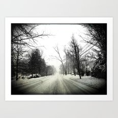 The Only Way Out Art Print