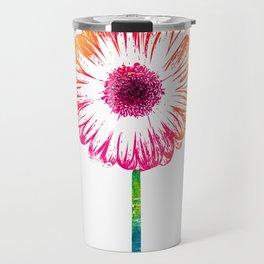 Gerbera flower Travel Mug