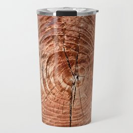 Tree Rings Travel Mug