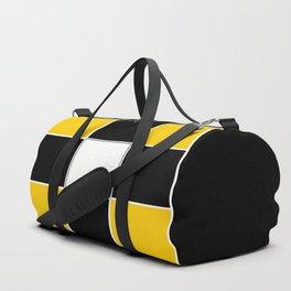 TEAM COLORS 3...BLACK ,YELLOW Duffle Bag