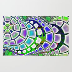 Steppin' Stone 3D Psychedelic Rug