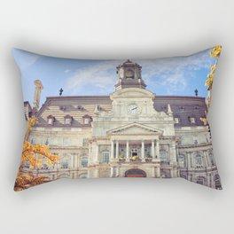 Old Town Hall Rectangular Pillow