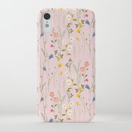 Dreamy Floral Pattern iPhone Case