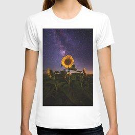 Galaxy Flowers T-shirt