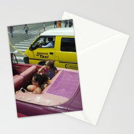 Transit in Cuba Stationery Cards