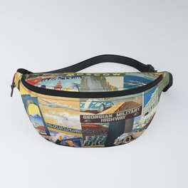 Russian Travel 1 Fanny Pack